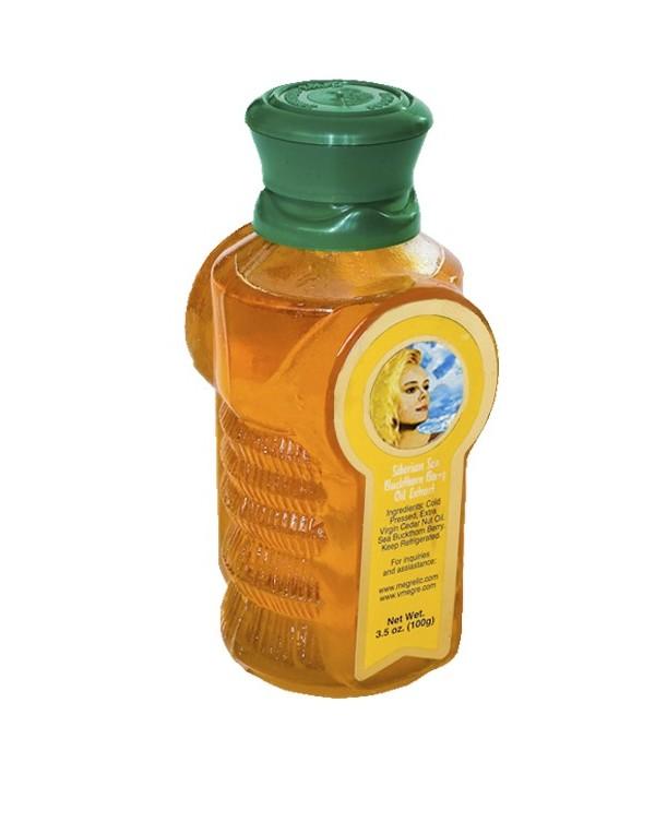 Aceite de Piñón de Cedro Siberiano con Espino Amarillo